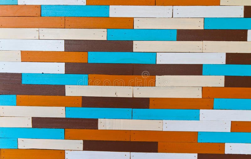 Fond en bois coloré images libres de droits