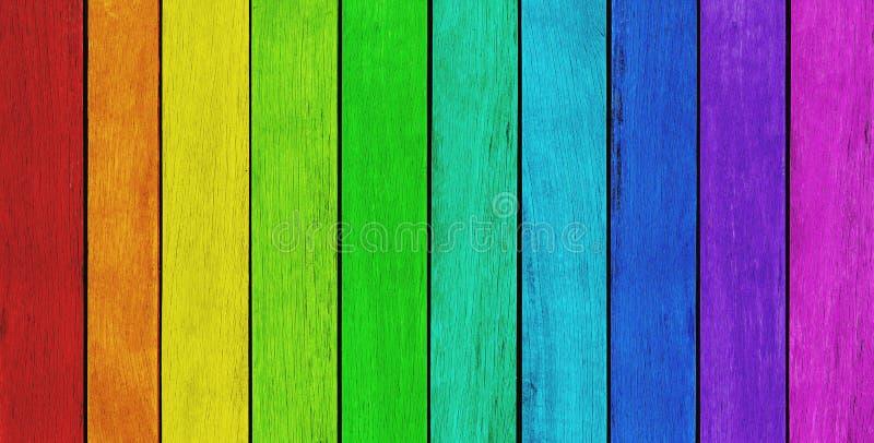 Fond en bois coloré photo libre de droits