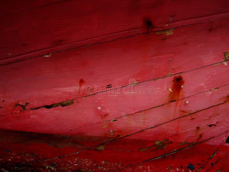 Fond en bois criqué rouge foncé image libre de droits