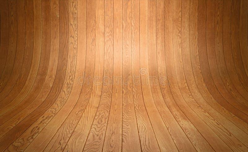 Fond en bois d'étage illustration libre de droits