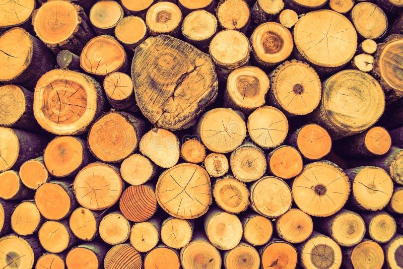 Fond en bois d'art de nature de texture de bois de construction de Brown photos stock