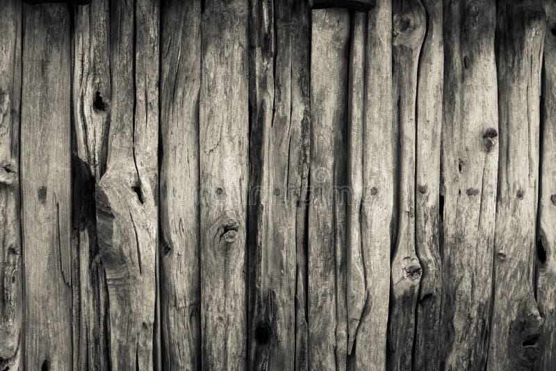 Fond en bois de barrière de plan rapproché de résumé vieux photos stock