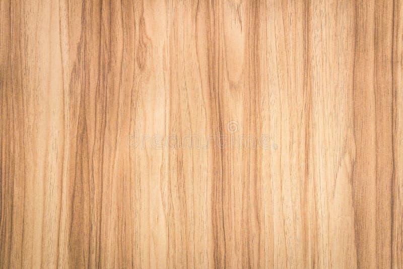 Fond en bois de Brown avec le modèle abstrait Surface de matériel en bois naturel image libre de droits