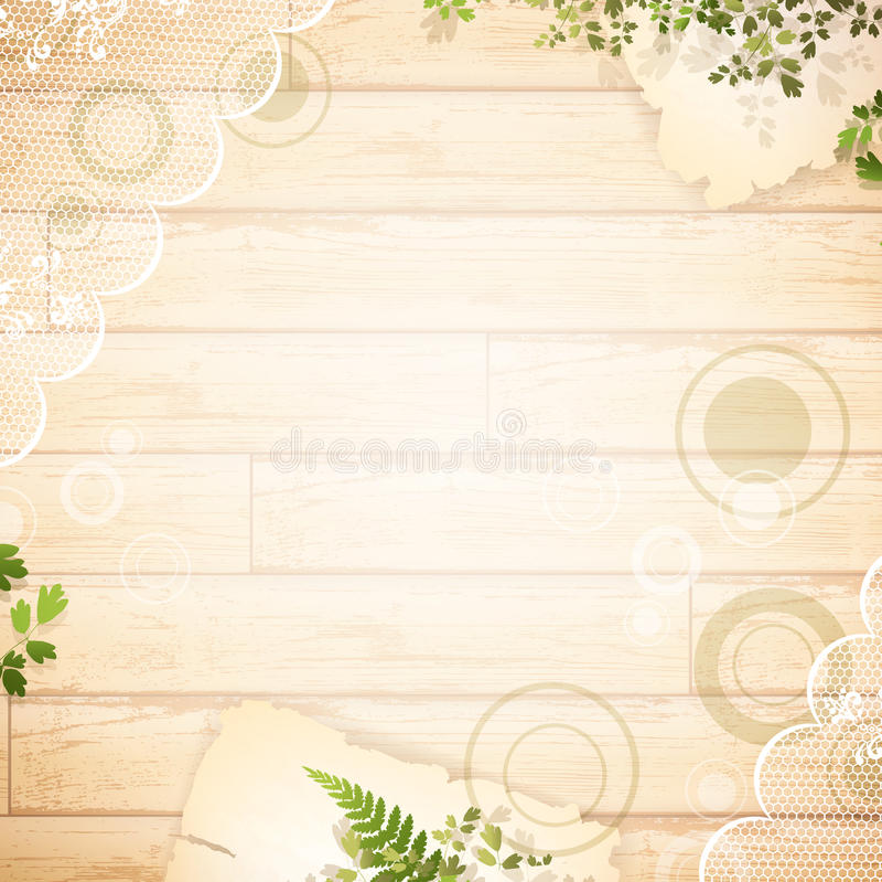 Fond en bois de cru illustration stock