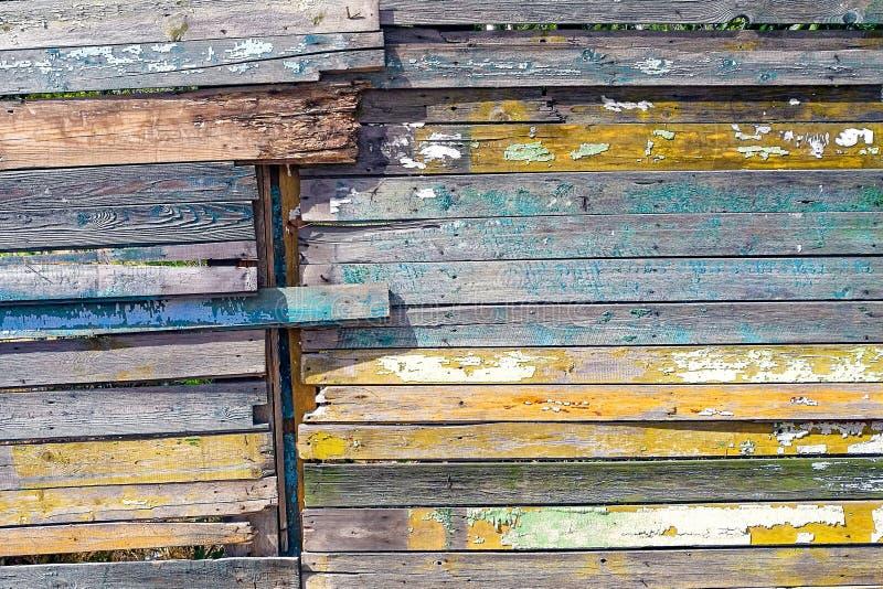Fond en bois de cru Le ch?ne superficiel par les agents en bois grunge ou le pin a donn? ? des planches une consistance rugueuse photographie stock
