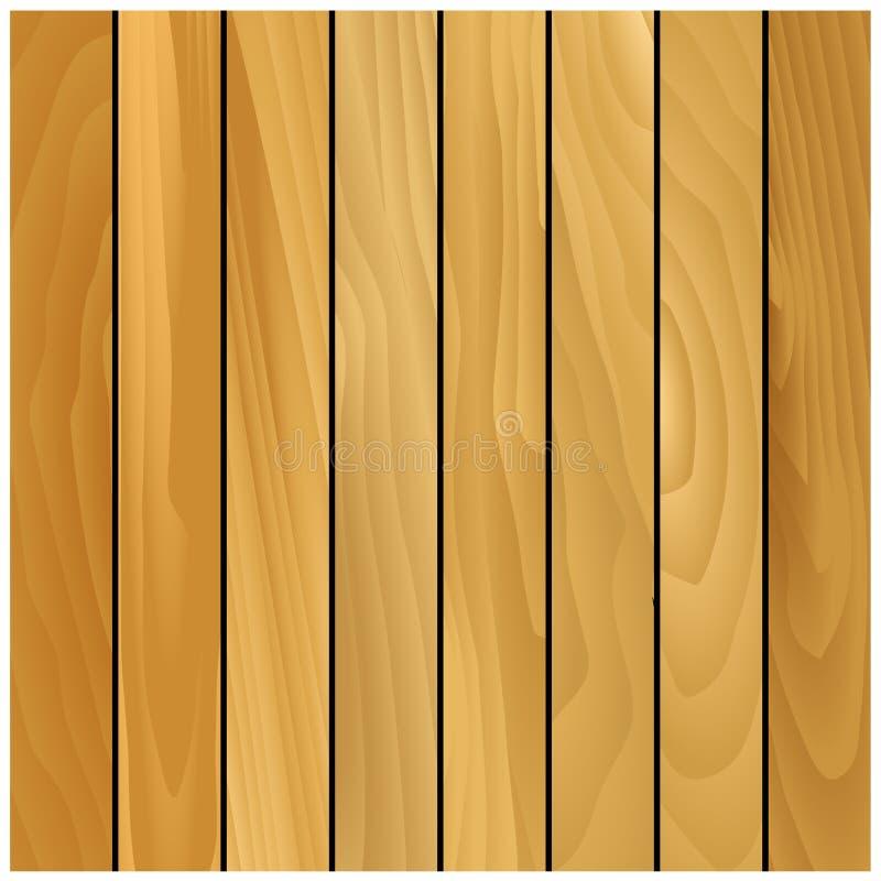 Fond en bois de modèle de texture de pin illustration libre de droits