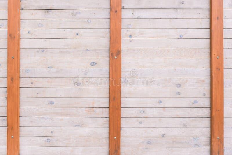 Fond en bois de mur des conseils en bois Texture de bois Fond int?rieur vide Conseils et panneaux l?gers construction images stock