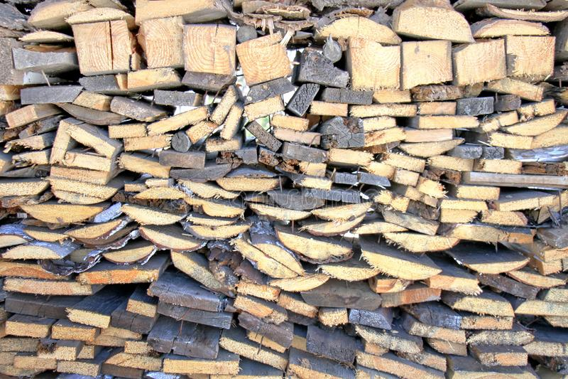 Fond en bois de photo de mur, rayures brunes photo stock