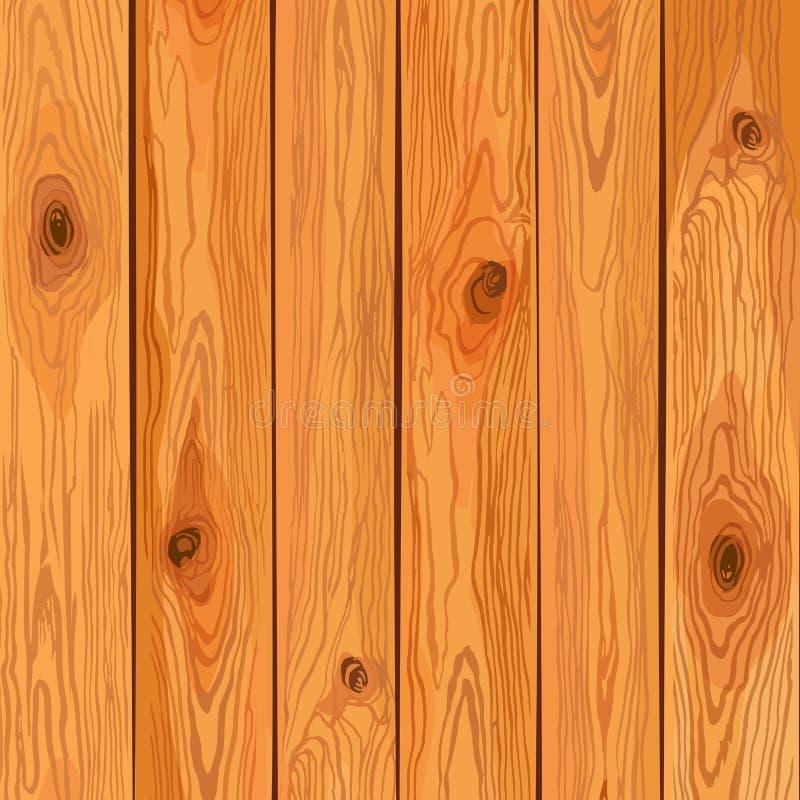 Fond en bois de pin de vecteur image libre de droits