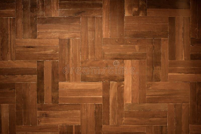 Fond en bois de plancher de parquet images stock