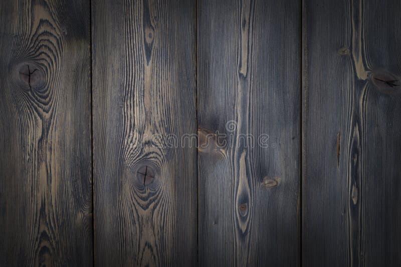 Fond en bois de texture avec le conseil foncé mou photo stock