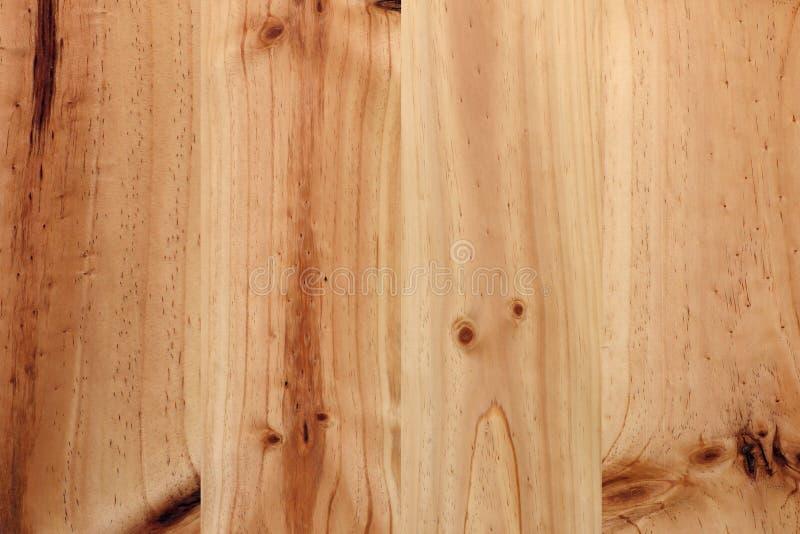Fond en bois de texture de brun de planche de pin photo libre de droits