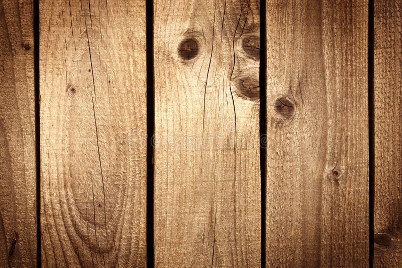Fond en bois de texture de Brown photographie stock