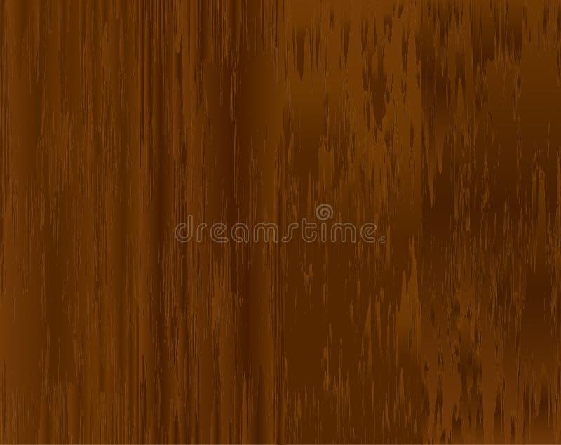Fond en bois de texture de Brown Illustration de vecteur photos libres de droits