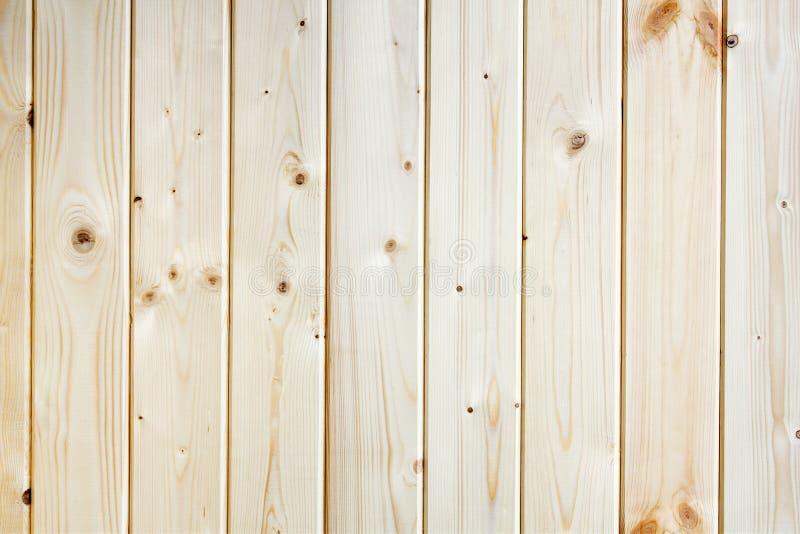 Fond en bois de texture de brun de planche de pin image libre de droits