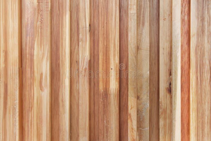 Fond en bois de texture de mur de planche de Brown photos libres de droits