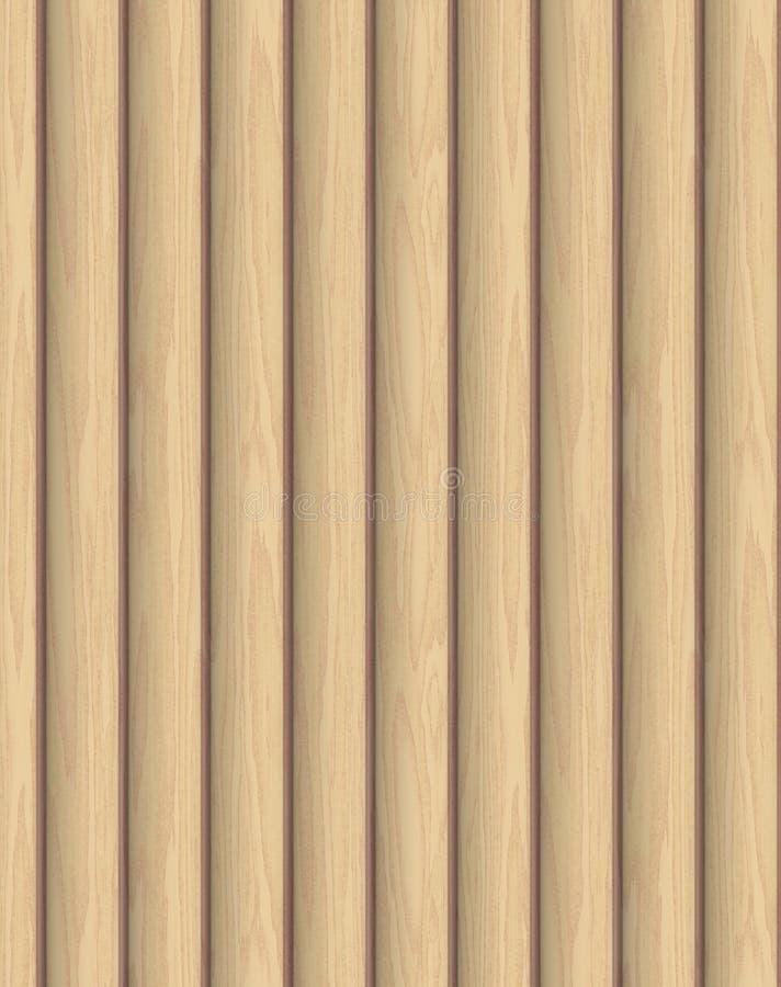 Fond en bois de texture de panneau illustration stock