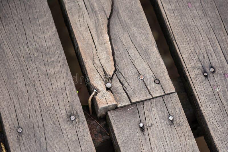 Fond en bois de texture de mur de planche de Brown, vieux bois photo stock