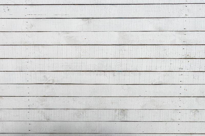 Fond en bois de texture peint par blanc vide photo stock
