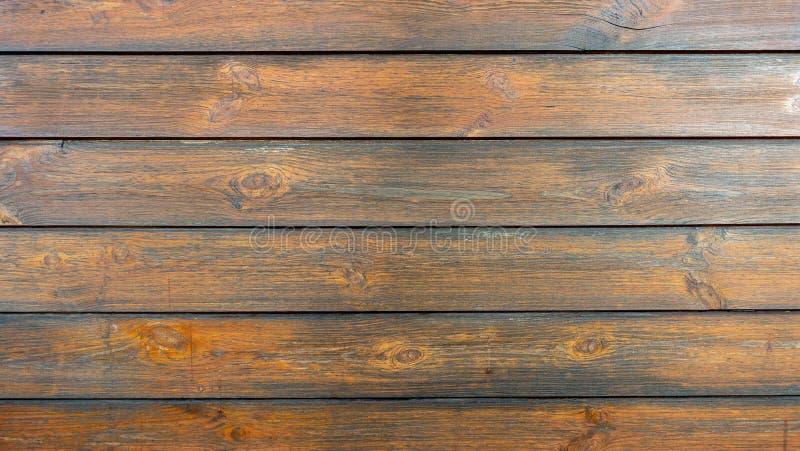 Fond en bois de texture de plancher de Brown photo stock