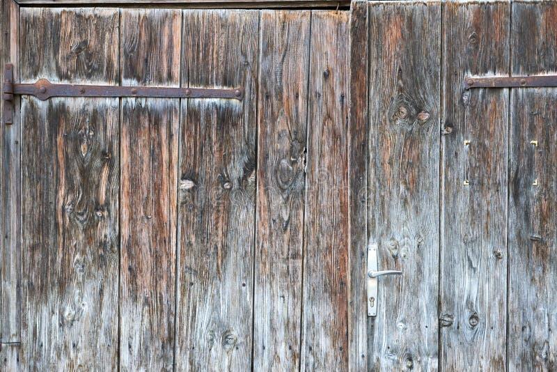 Fond en bois de texture Fond en bois de planches, superficiel par les agents, avec des clous, la vue supérieure, dièse et forteme photographie stock