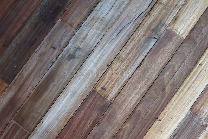 Fond en bois de texture, planches en bois Surface en bois foncée de fond de texture avec le vieux modèle naturel Texture en bois  images stock