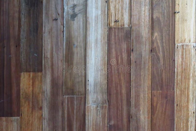 Fond en bois de texture, planches en bois Surface en bois foncée de fond de texture avec le vieux modèle naturel Texture en bois  images libres de droits