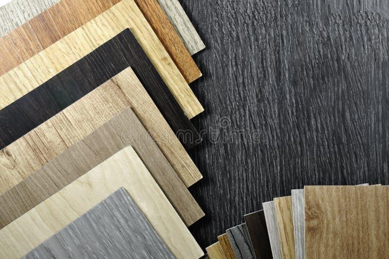 Fond en bois de texture Vue supérieure d'échantillon en bois de matériaux photographie stock