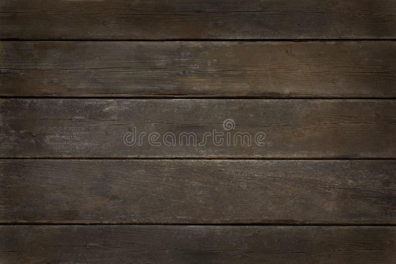Fond en bois de vignette de vintage foncé photos stock
