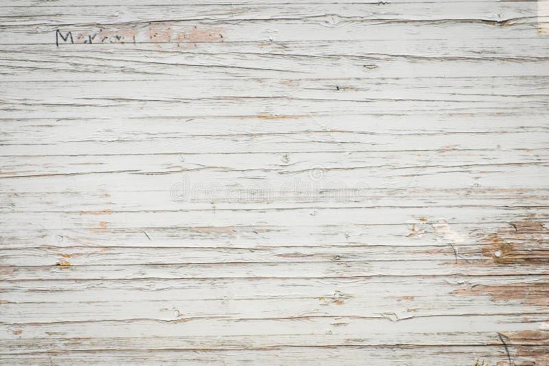 Fond en bois de vintage - vieille texture en bois de mur photographie stock