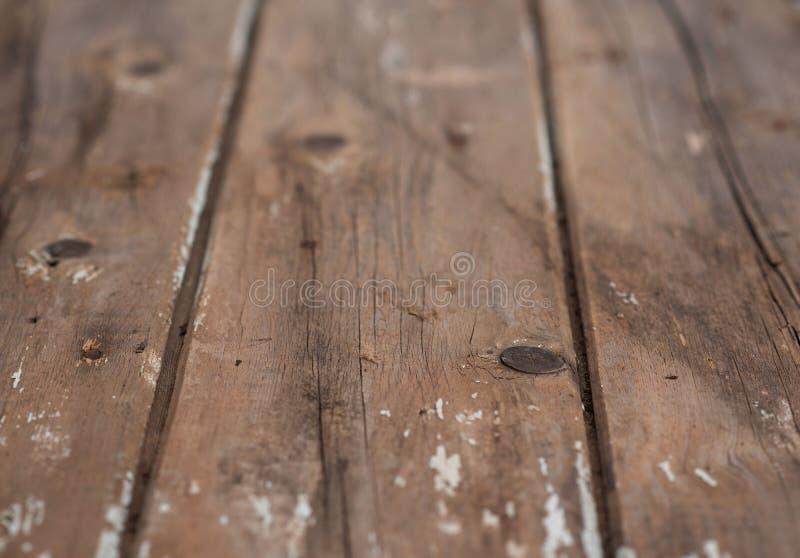 Fond en bois des vieilles planches en bois image libre de droits