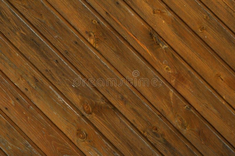 Fond en bois diagonal de planche photo stock