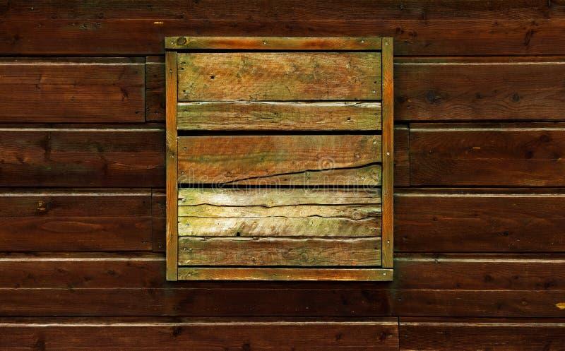 Fond en bois foncé, brun et gnarly images stock