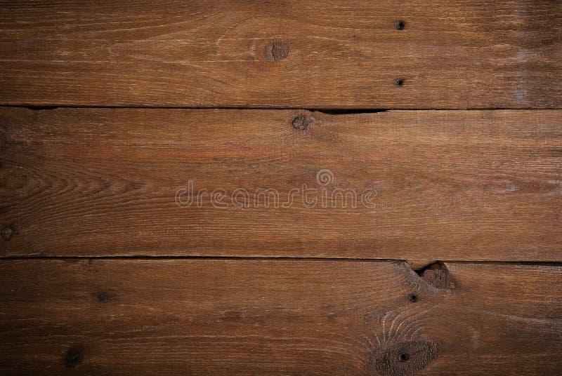 Fond en bois foncé de panneaux photo libre de droits