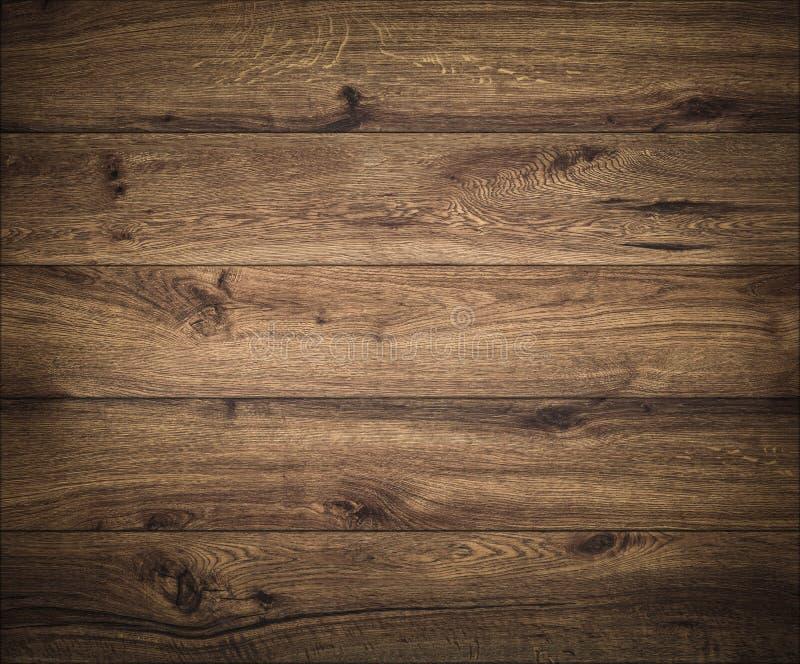 Fond en bois fonc? Texture de panneau en bois Structure de planche naturelle photographie stock libre de droits