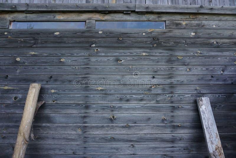 Fond en bois gris images libres de droits