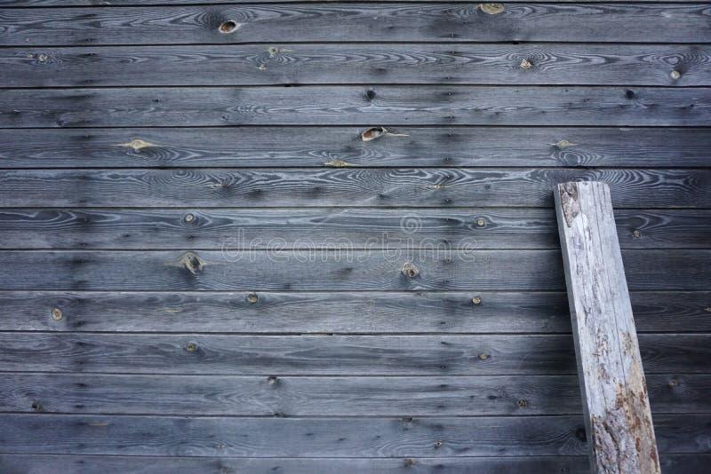 Fond en bois gris photo libre de droits