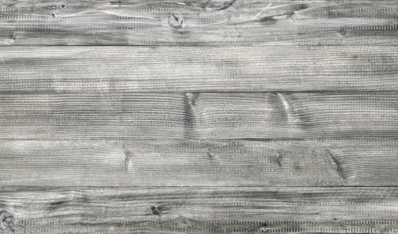 Fond en bois gris-clair de style de vintage Texture en bois images libres de droits
