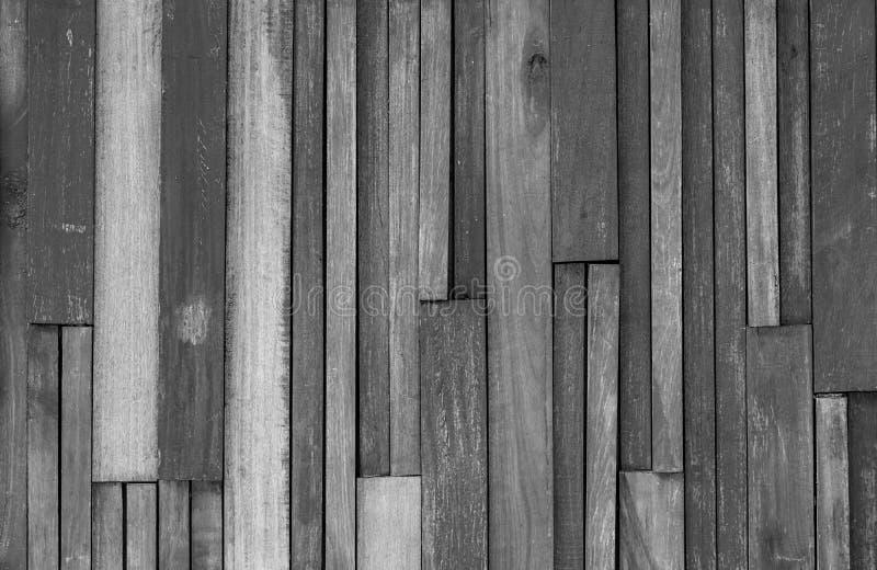 Fond en bois gris de texture Contexte en bois Planches en bois Vieux fond d'abrégé sur panneau Fond gris pour triste, la mort photographie stock libre de droits