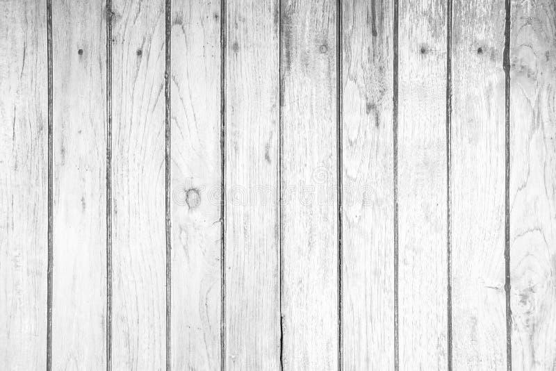 Fond en bois grunge blanc de texture images libres de droits