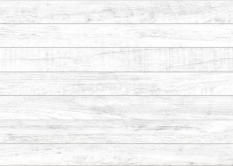 Fond en bois naturel blanc de mur Fond en bois de modèle et de texture photographie stock libre de droits