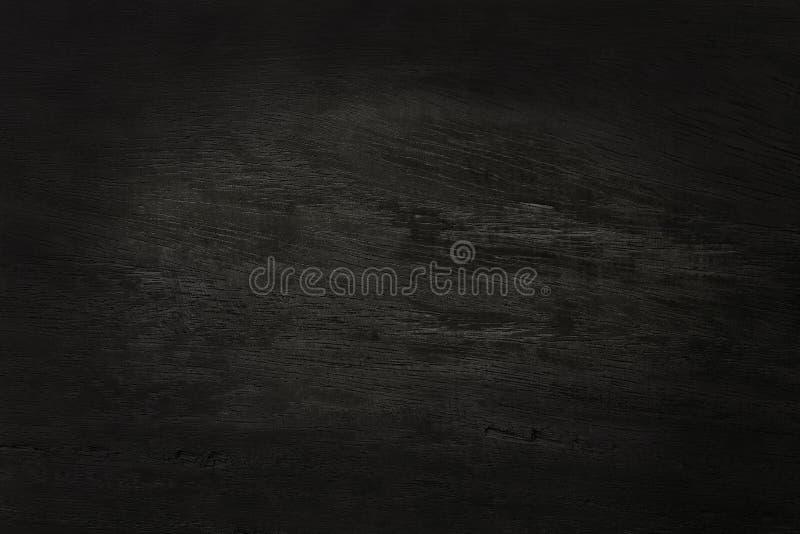 Fond en bois noir de mur, texture de bois foncé d'écorce avec le vieux modèle naturel pour l'oeuvre d'art de conception, vue supé photographie stock