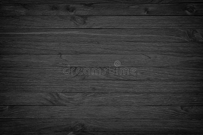 Fond en bois noir ou texture en bois sombre de grain images libres de droits