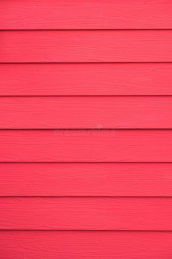 Fond en bois rouge de texture de vintage de mur de maison image stock