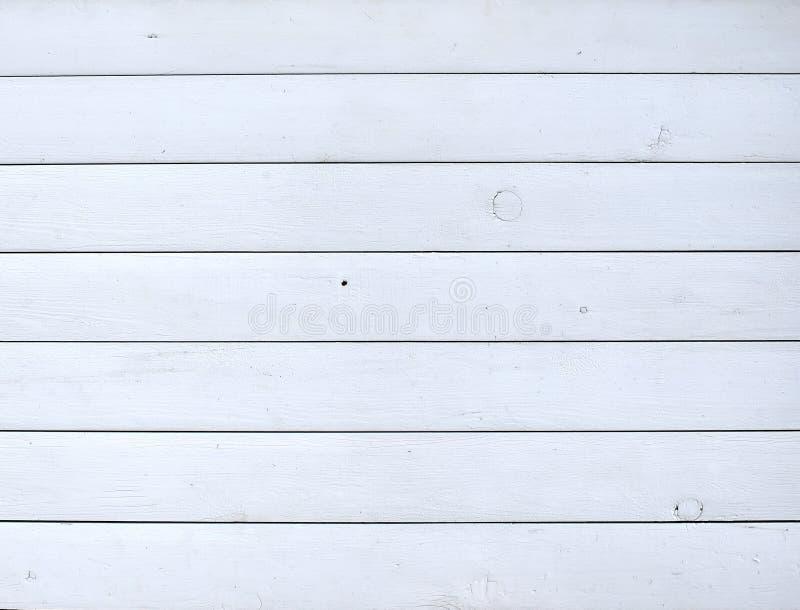 Fond en bois rustique peint par blanc image stock