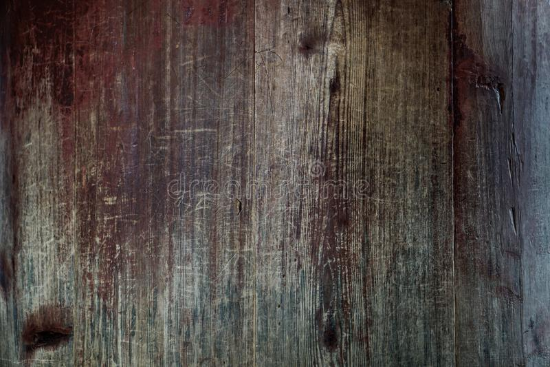 Fond en bois rustique sale de texture photographie stock libre de droits