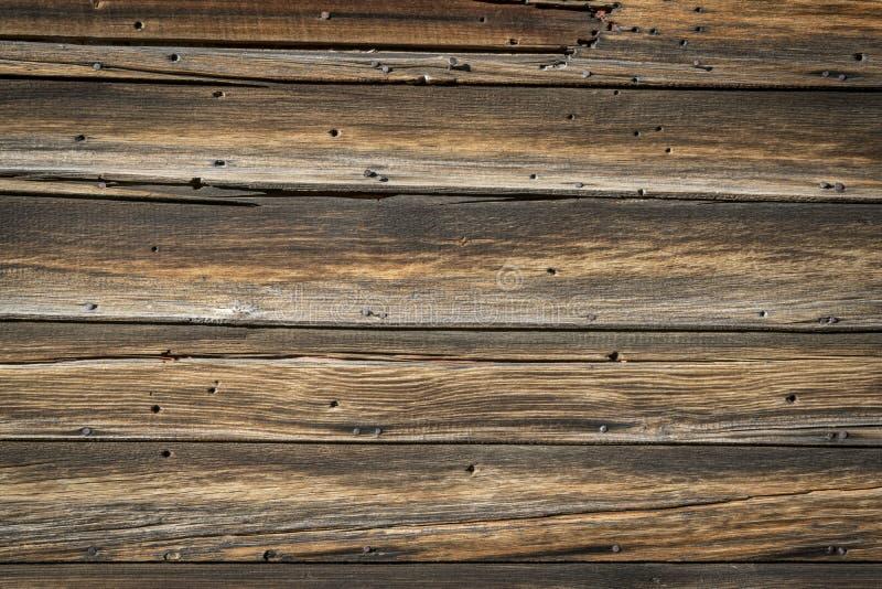 Fond en bois superficiel par les agents rustique de texture photo libre de droits