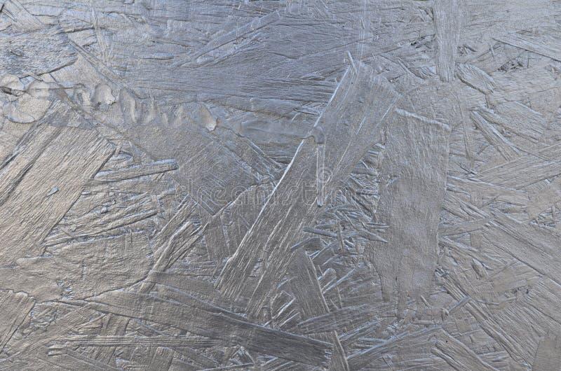 Fond en bois texturisé argenté brillant image stock