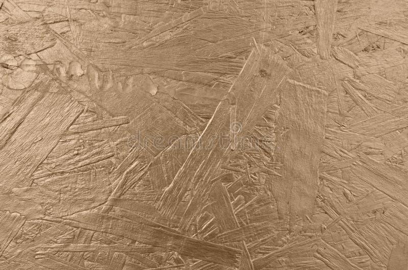 Fond en bois texturis? d'or brillant photographie stock libre de droits