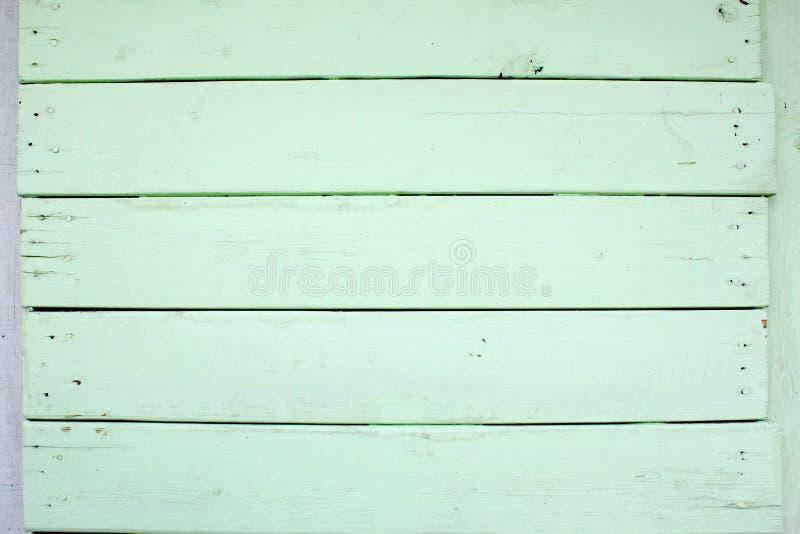 Fond en bois vert de texture de mur photographie stock